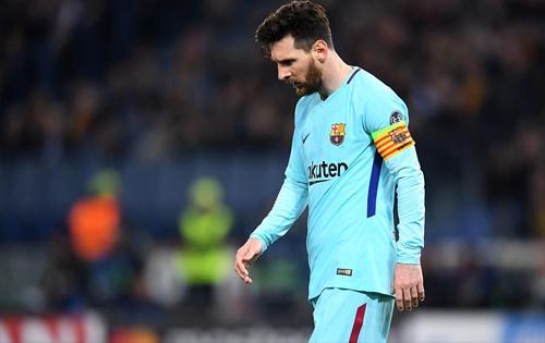 Messi và các đồng đội có trận đấu tệ nhất từ đầu mùa.