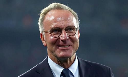 Chủ tịch Rummenigge tự tin trước trận gặp Real. Ảnh: Reuters.