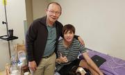 HLV Park Hang-seo thăm Tuấn Anh tại bệnh viện Hàn Quốc