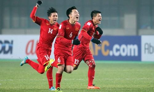 Việt Nam là hạt giống vòng loại U23 châu Á 2020. Ảnh: Anh Khoa.