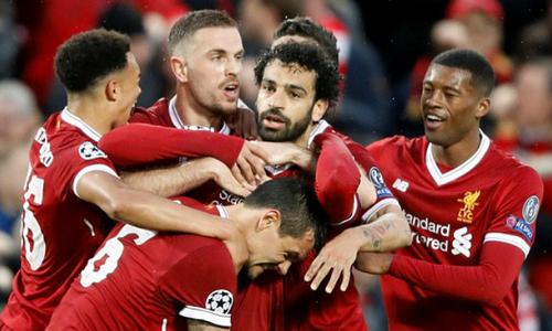Salah ghi dấu giày vào bốn bàn, Liverpool đè bẹp Roma - Thể Thao