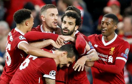 Salah tiếp tục là nhân vật chính trong chiến thắng của Liverpool. Ảnh: Reuters.