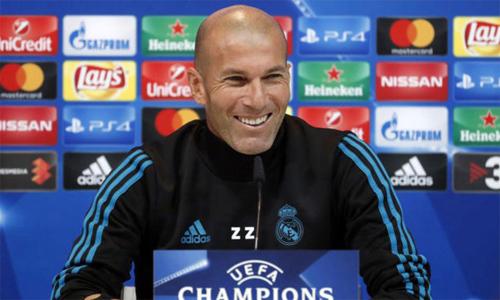 Zidane tin vào bản lĩnh của các học trò. Ảnh: Marca.