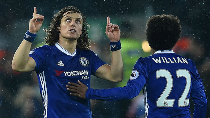 David Luiz, Willian chung tay mở nhà hàng