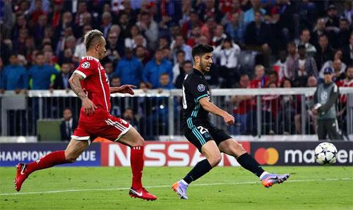 Real dứt điểm tốt hơn hẳn Bayern.