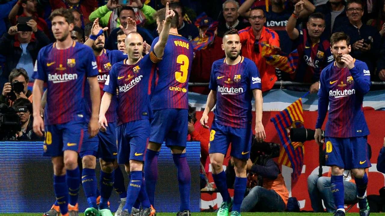 Thống kê ấn tượng khi Barca vô địch La Liga 2017-2018