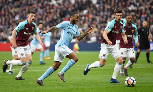 Đè bẹp West Ham, Man City vượt mốc 100 bàn