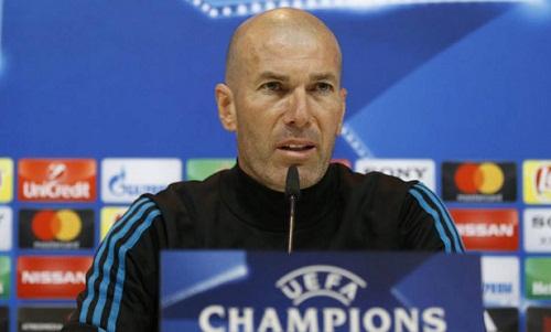 Zidane muốn học trò ghi bàn sớm khi tiếp Bayern. Ảnh: Marca.