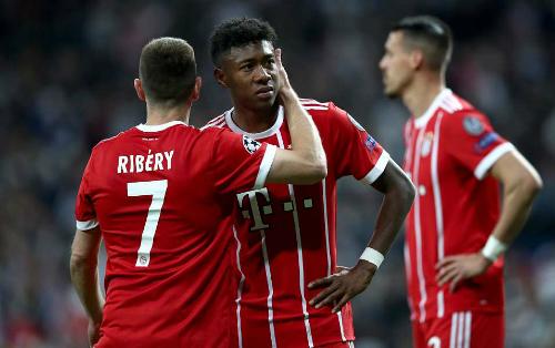 Bayern phải dừng chân tại sân Bernabeu mùa thứ hai liên tiếp. Ảnh: AFP.