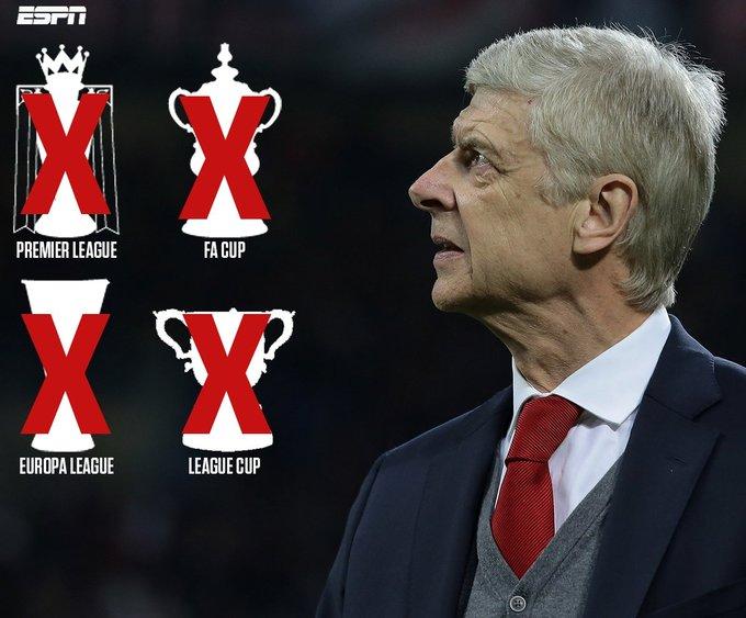 Wenger vỡ mộng từ biệt trong vinh quang cùng Arsenal