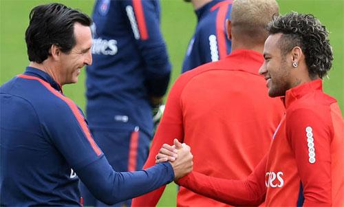 HLV Emery: 'Neymar là thủ lĩnh ở PSG chứ không phải tôi'