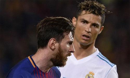 Messi và Ronaldo đều đang có thành tích khủng. Ảnh: Reuters