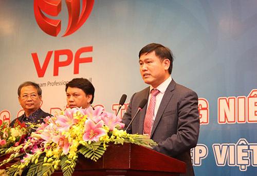 Ông Trần Anh Tú cho biết VPF sẽ mạnh tay với vấn nạn trọng tài.