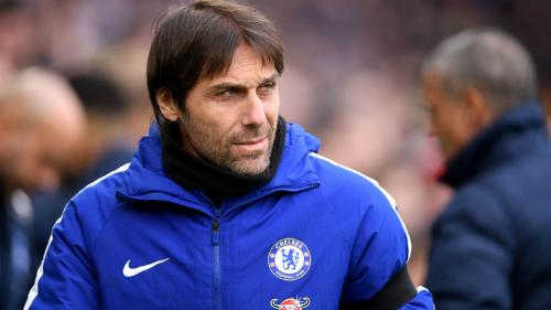 Conte bày tỏ thất vọng với màn trình diễn của Chelsea ở mùa giải năm nay. Ảnh:AFP.