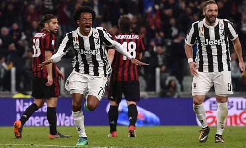 Juventus thắng Milan ở cả hai trận tại Serie A mùa này. Ảnh: SS.