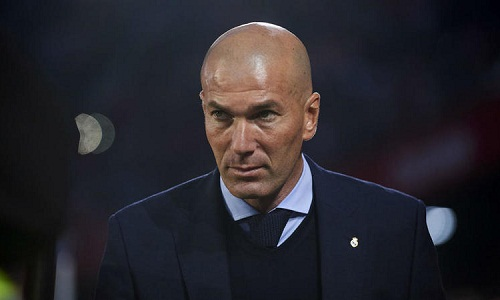 Zidane cho rằng Real xứng đáng nhận thất bại. Ảnh: AFP.