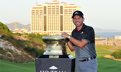 Sự nghiệp của Sergio Garcia thăng tiến mạnh sau chức vô địch tại Hồ Tràm năm 2015. Golfer Tây Ban Nha có lần đầu giành major khi vô địch Masters 2017. Ảnh: Asian Tour.