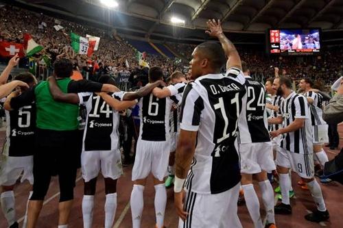 Juventus vẫn tỏ ra quá mạnh so với phần còn lại của Serie A. Ảnh: Reuters.