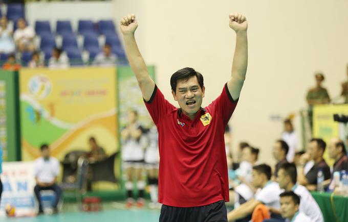Bình Điền Long An thắng áp đảo đội bóng chuyền Trung Quốc