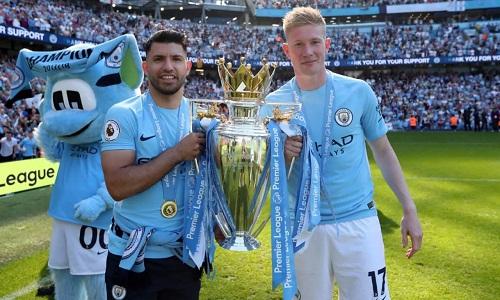 De Bruyne cho rằng mùa giải của Man City gần như không thể được tái hiện trong tương lai. Ảnh: AFP.