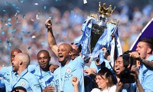 Man City đăng quang một cách thuyết phục ở mùa giải vừa qua. Ảnh: Reuters.