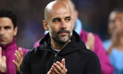 Guardiola muốn Man City vô địch Ngoại hạng Anh hơn giành Champions League. Ảnh: Reuters.