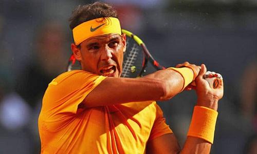 Nadal tiếp tục trở lại với những chiến thắng áp đảo trên sân đất nện. Ảnh: AFP.