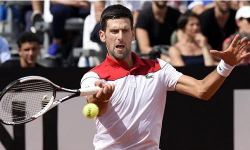 Djokovic cảm thấy thoải mái khi thi đấu tạiRome Masters. Ảnh: AP.