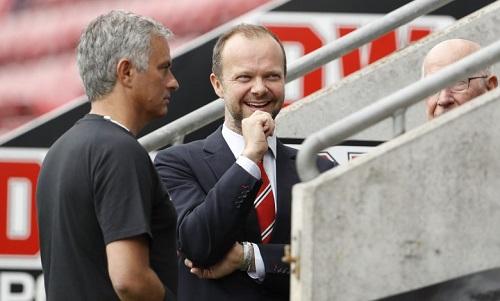 Sếp của Man Utdkhông màng kết quả trên sân cỏ. Ảnh: Reuters.