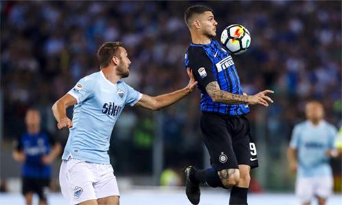Lazio đi trước, nhưng về sau Inter trong cuộc đua giành vé cuối dự Champions League mùa sau. Ảnh: La Presse.