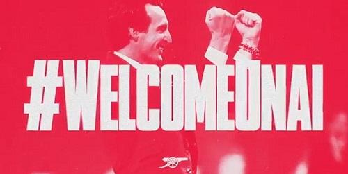 Arsenal ra mắt HLV Unai Emery. Ảnh: AFC.