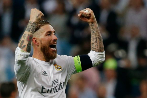 Ramos muốn có chức vô địch Champions League làm đối trọng với Barca. Ảnh: AFP.
