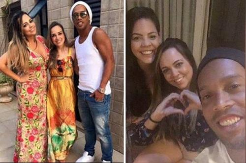 Ronaldinho chuẩn bị cưới hai vợ cùng lúc - ảnh 1