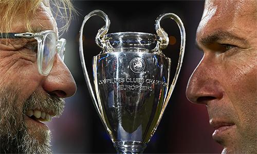 Klopp và Zidane sẽ tạo nên những gia vị đặc biệt cho trận cầu được chờ đợi nhất mùa giải châu Âu cấp CLB. Ảnh: Guardian.