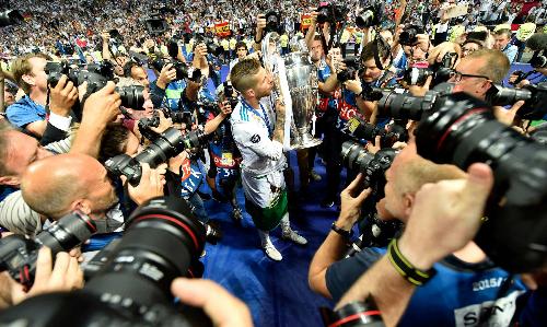 Rất khó để đội bóng nào soán ngôi Real ở vị trí giành nhiều danh hiệu vô địch châu Âu nhất. Ảnh: AFP.