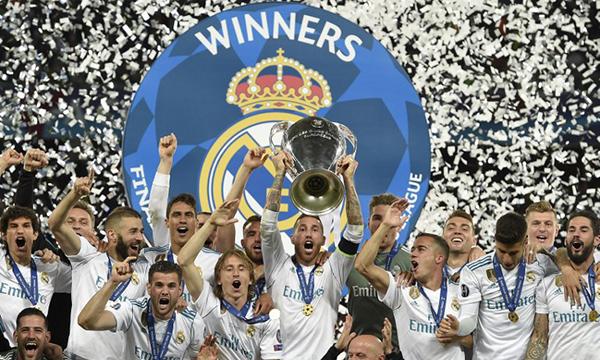 Real chiến thắng bằng cả bản lĩnh, kinh nghiệm lẫn vận may. Ảnh: AFP.