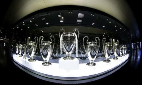 Phòng truyền thống của Real hết chỗ để bày Cup Champions League - Thể Thao