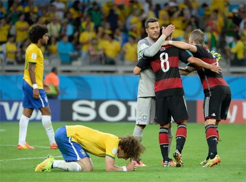 Trận thua 1-7 trên sân nhà năm 2014 là một sự sỉ nhục đối với Brazil.