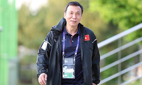 Ông Trần Quốc Tuấn từng làm Tổng thư ký VFF và hiện là phó chủ tịch thường trực VFF. Ảnh: Đức Đồng.