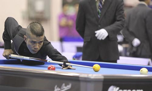 Chức vô địch Cup Thế giới của Quyết Chiến sẽ là cảm hứng cho những đứa trẻ Việt Nammê billiards. Ảnh: Đông Huyền.