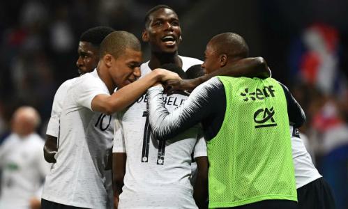 Pháp có màn chạy đà tốt cho World Cup 2018. Ảnh: Reuters.