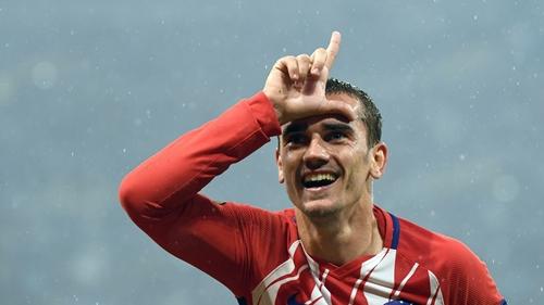 Griezmann là mục tiêu theo đuổi của Barca. Ảnh: Reuters.
