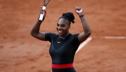 Serena đang dần lấy lại phong độ sau khi sinh con. Ảnh: AP.