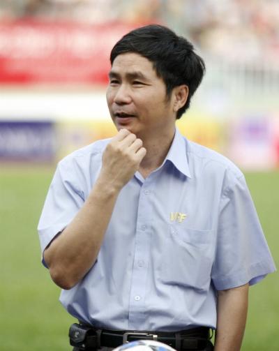 Ông Dương Nghiệp Khôi có nhiều kinh nghiệm trọng quản lý và điều hành bóng đá ở Việt Nam. Ông sẽ ngồi vào ghế chủ tịch CLB Sài Gòn. Ảnh: Đức Đồng.