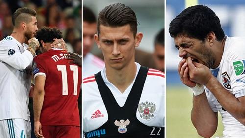 Kutepov sẽ đối đầu vớihai tiền đạo hàng đầu là Salah và Suarez.