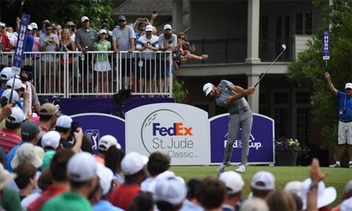 Dustin Johnson lần thứ hai vô địch tại FedEx St. Jude Classic, nâng tổng số danh hiệu PGA Tour trong sự nghiệp lên con số 18. Ảnh: Reuters.