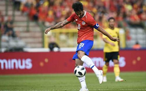 Đây là trận giao hữu cuối cùng của cả Bỉ và Costa Rica trước khi đến Nga dự World Cup.