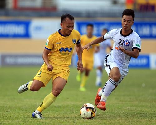 Thanh Hóa có trận thắng đầu tiên sau bốn trận toàn hòa và thua. Ảnh: Minh Hoàng.