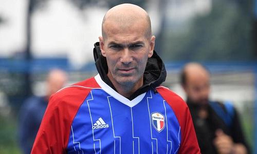 Zidane không chia tay Real để dẫn dắt tuyển Pháp. Ảnh: Marca.