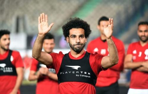 Salah là ngôi sao số một của Ai Cập tại World Cup 2018. Ảnh: Reuters.